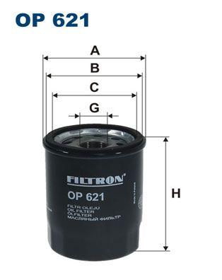 FILTRON OP621 | ФильтрмасляныйOP621 | Купить в интернет-магазине Макс-Плюс: Автозапчасти в наличии и под заказ
