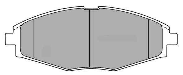 FREMAX FBP1092 | Колодки торм.пер. | Купить в интернет-магазине Макс-Плюс: Автозапчасти в наличии и под заказ