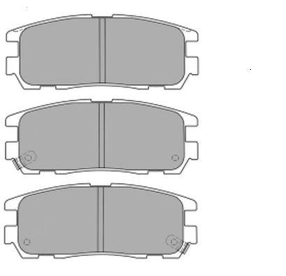 FREMAX FBP1207 | Колодки торм.задн. | Купить в интернет-магазине Макс-Плюс: Автозапчасти в наличии и под заказ