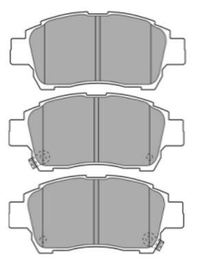 FREMAX FBP1211 | Колодки торм.пер. | Купить в интернет-магазине Макс-Плюс: Автозапчасти в наличии и под заказ