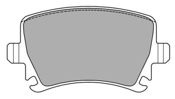 FREMAX FBP1371 | Колодки SKODA Octavia II 04- задние | Купить в интернет-магазине Макс-Плюс: Автозапчасти в наличии и под заказ