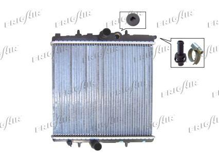 FRIGAIR 01083034   Радиатор PSA 206 1.4-1.6V   Купить в интернет-магазине Макс-Плюс: Автозапчасти в наличии и под заказ