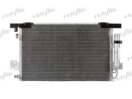 FRIGAIR 08033027   Радиатор кондиционера PSA 4007, C-Crosser 2.2HDi, 2.4, Mitsubishi   Купить в интернет-магазине Макс-Плюс: Автозапчасти в наличии и под заказ
