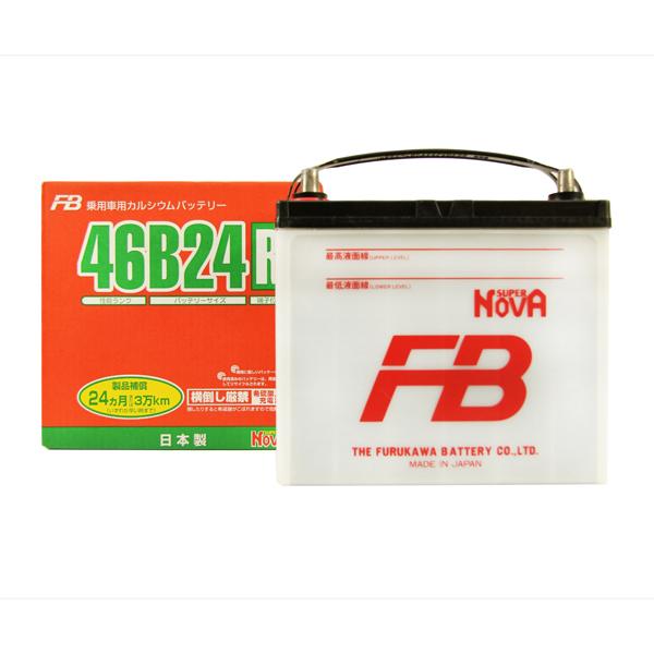FURUKAWA BATTERY 46B24R | Аккумулятор FB SUPER NOVA   | Купить в интернет-магазине Макс-Плюс: Автозапчасти в наличии и под заказ