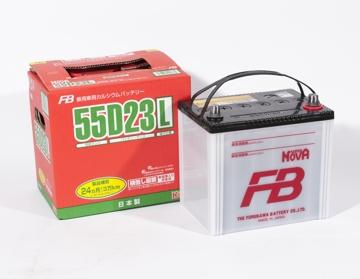 FURUKAWA BATTERY 55D23L | Аккумулятор FB SUPER NOVA   | Купить в интернет-магазине Макс-Плюс: Автозапчасти в наличии и под заказ