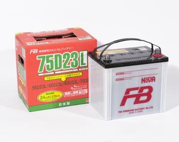 FURUKAWA BATTERY 75D23L | Аккумулятор FB SUPER NOVA   | Купить в интернет-магазине Макс-Плюс: Автозапчасти в наличии и под заказ