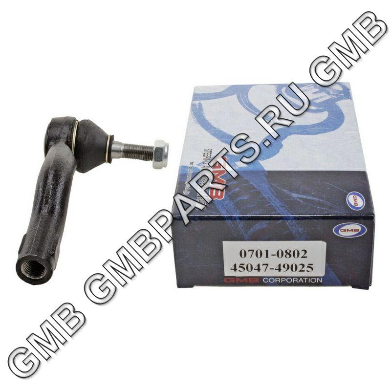 GMB 07010802 | Наконечник рулевой, внешний левый CET116L | Купить в интернет-магазине Макс-Плюс: Автозапчасти в наличии и под заказ