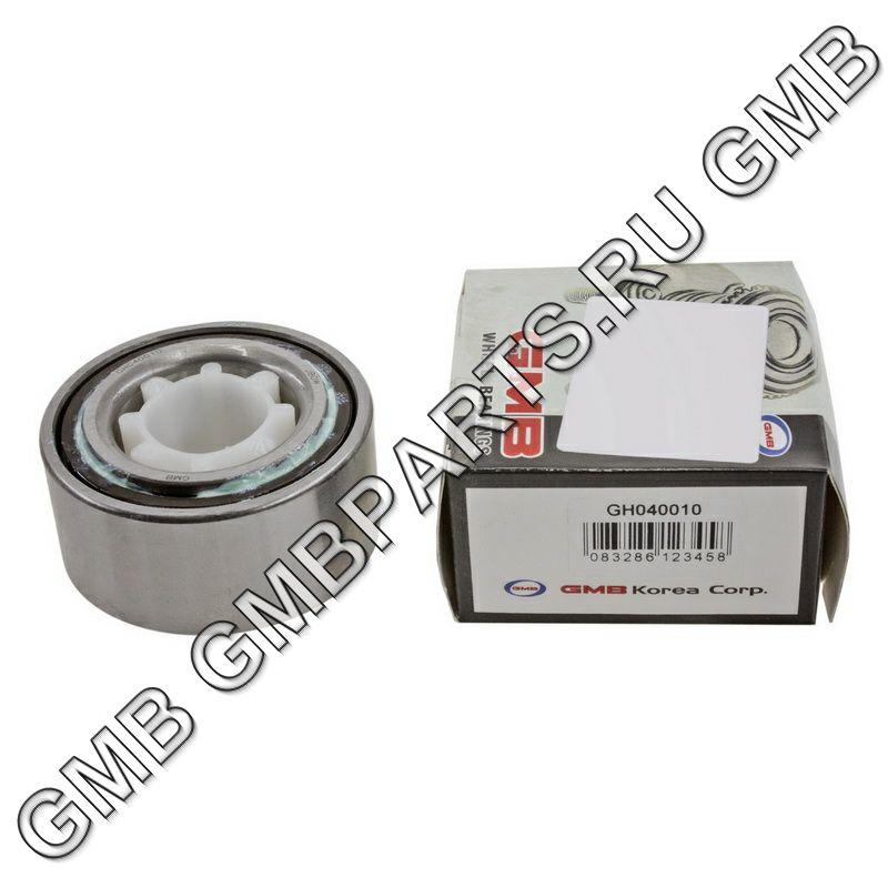 GMB GH040010 | Подшипник ступицы закрытый | Купить в интернет-магазине Макс-Плюс: Автозапчасти в наличии и под заказ
