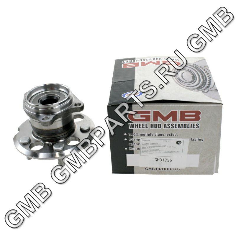 GMB GH31735 | Ступица, задняя | Купить в интернет-магазине Макс-Плюс: Автозапчасти в наличии и под заказ