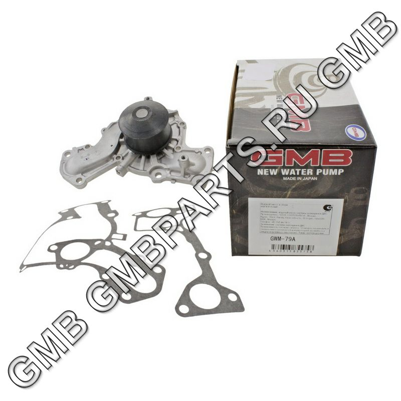 GMB GWM79A | Помпа охлаждающей жидкости GMB | Купить в интернет-магазине Макс-Плюс: Автозапчасти в наличии и под заказ