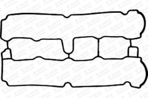 GOETZE 5002908700 | Прокладка клап | Купить в интернет-магазине Макс-Плюс: Автозапчасти в наличии и под заказ