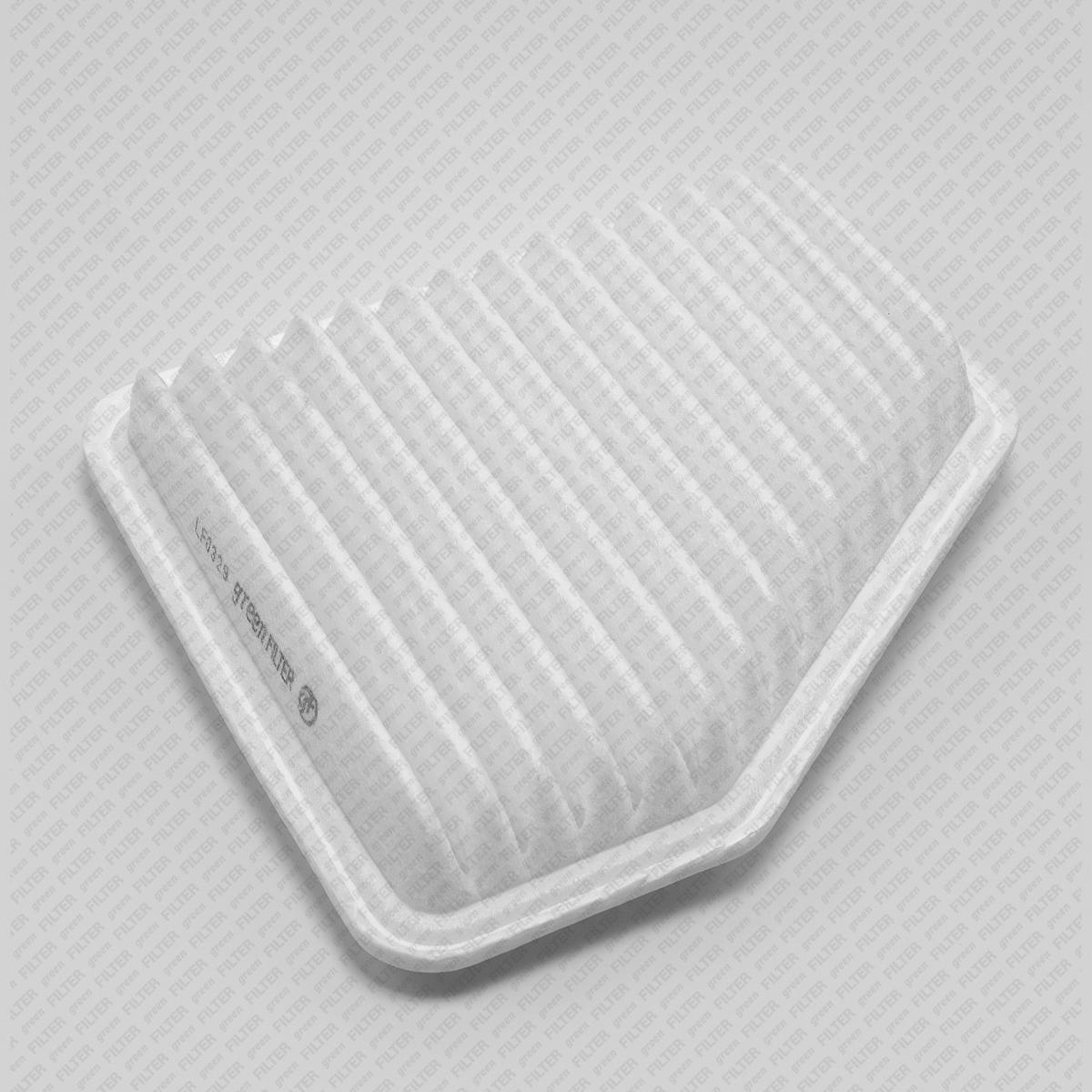 GREEN FILTER LF0329   Фильтр воздушный LEXUS,TOYOTA   Купить в интернет-магазине Макс-Плюс: Автозапчасти в наличии и под заказ