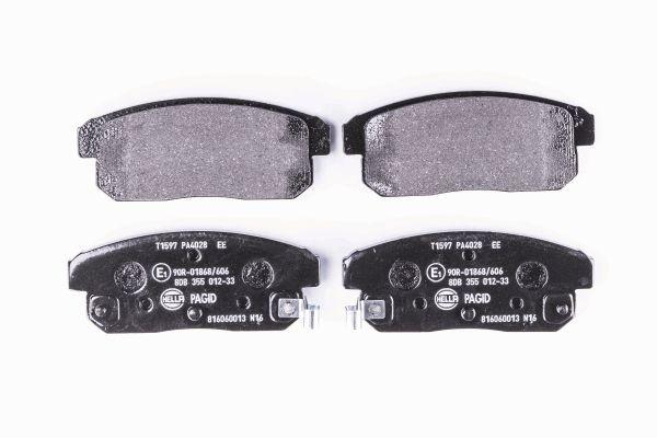 HELLA 8DB355012331 | Тормозные колодки | Купить в интернет-магазине Макс-Плюс: Автозапчасти в наличии и под заказ