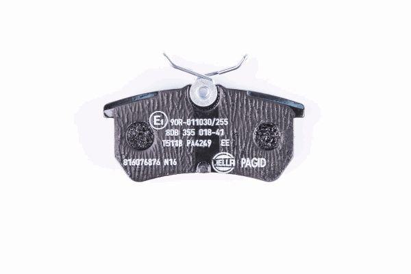 HELLA 8DB355018411 | Колодки тормозные дисковые | Купить в интернет-магазине Макс-Плюс: Автозапчасти в наличии и под заказ