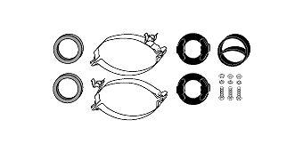 HJS 82122118   Монтажный комплект   Купить в интернет-магазине Макс-Плюс: Автозапчасти в наличии и под заказ