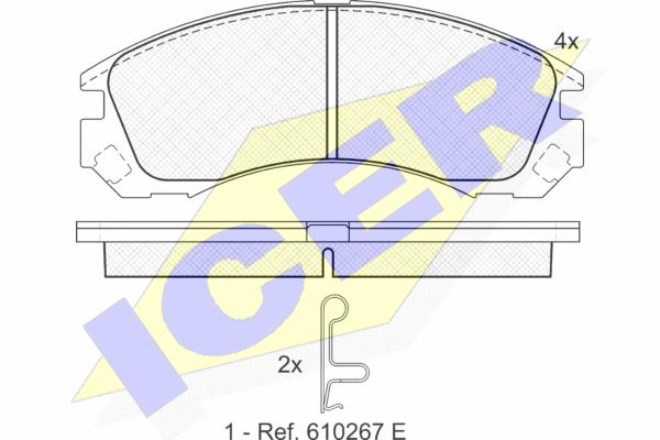ICER 181358 | 181358 колодки дисковые передние !\ Mitsubishi Space Wagon 2.4GDi 98>/Gear 2.0-2.5TD 95> | Купить в интернет-магазине Макс-Плюс: Автозапчасти в наличии и под заказ