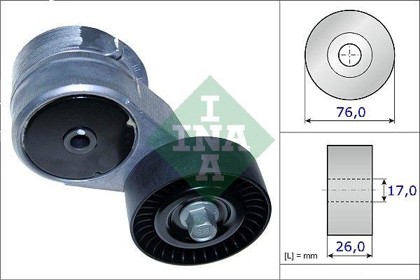 INA 534041710 | Ролик натяжной приводного ремня | Купить в интернет-магазине Макс-Плюс: Автозапчасти в наличии и под заказ