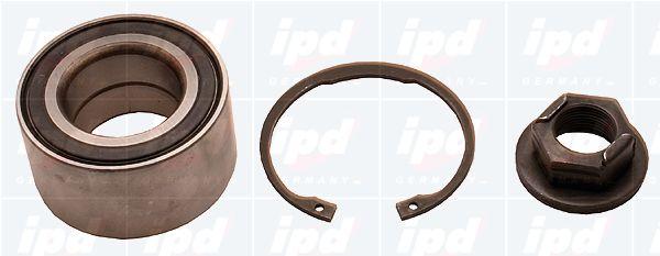 IPD 307810 | Подшипник ступицы передний 39X72X37, комплект | Купить в интернет-магазине Макс-Плюс: Автозапчасти в наличии и под заказ