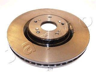 JAPKO 60417 | Тормозной диск перед. Honda Accord IX 2.0i/2.4i 08- (цена за 1шт) | Купить в интернет-магазине Макс-Плюс: Автозапчасти в наличии и под заказ