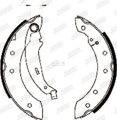 JURID 362318J | Колодки тормозные Jurid 362318J RENAULT SALE | Купить в интернет-магазине Макс-Плюс: Автозапчасти в наличии и под заказ