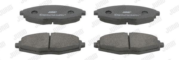 JURID 572402J | Колодки тормозные | Купить в интернет-магазине Макс-Плюс: Автозапчасти в наличии и под заказ