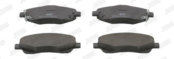 JURID 572485J | Колодки тормозные дисковые 4 шт. передние | Купить в интернет-магазине Макс-Плюс: Автозапчасти в наличии и под заказ