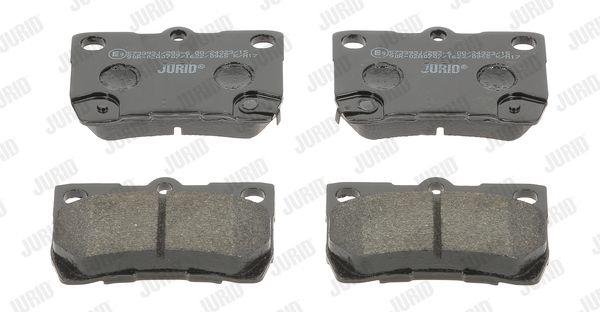 JURID 573393J | Колодки тормозные | Купить в интернет-магазине Макс-Плюс: Автозапчасти в наличии и под заказ