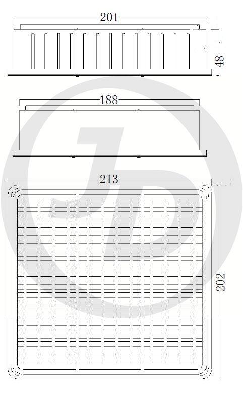 JUST DRIVE JDA3011 | Фильтр воздушный | Купить в интернет-магазине Макс-Плюс: Автозапчасти в наличии и под заказ