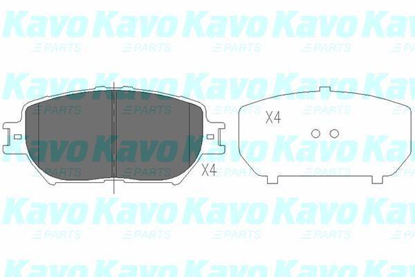KAVO PARTS KBP9070 | Колодки тормозные TOYOTA CAMRY (_V30_) 2.4/3.0 01>04 передние | Купить в интернет-магазине Макс-Плюс: Автозапчасти в наличии и под заказ