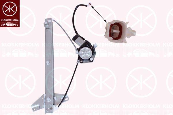 KLOKKERHOLM 81431801 | Стеклоподъемник с мотором  без функц.комфорта | Купить в интернет-магазине Макс-Плюс: Автозапчасти в наличии и под заказ