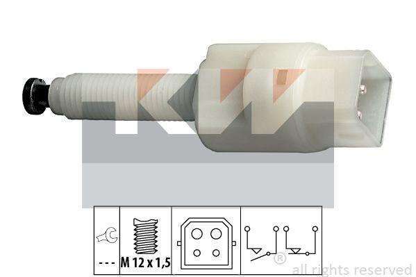 KW 510126 | Датчик стоп-сигнала | Купить в интернет-магазине Макс-Плюс: Автозапчасти в наличии и под заказ