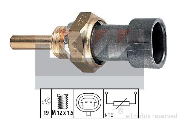 KW 530098 | Датчик температуры | Купить в интернет-магазине Макс-Плюс: Автозапчасти в наличии и под заказ