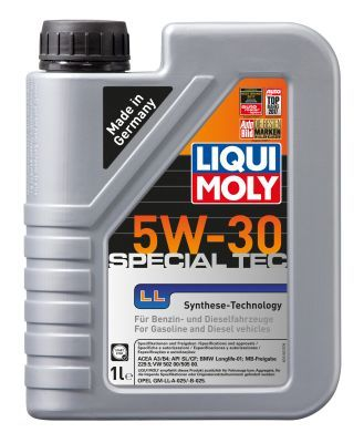 LIQUI MOLY 1192 | Масло моторное Liqui Moly Special Tec LL 5W30 (Синтетика, API SL) 1L | Купить в интернет-магазине Макс-Плюс: Автозапчасти в наличии и под заказ