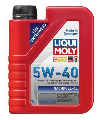 LIQUI MOLY 1305 | Масло моторное Liqui Moly Nachfull Oil 5W40 (Синтетика, API CF/SN) 1L | Купить в интернет-магазине Макс-Плюс: Автозапчасти в наличии и под заказ
