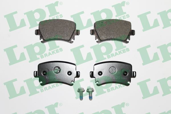 LPR 05P1219 | Комплект тормозных колодок 05P1219 | Купить в интернет-магазине Макс-Плюс: Автозапчасти в наличии и под заказ