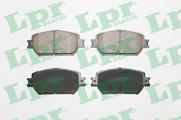 LPR 05P1361 | Колодка торм.Toyota передн. | Купить в интернет-магазине Макс-Плюс: Автозапчасти в наличии и под заказ