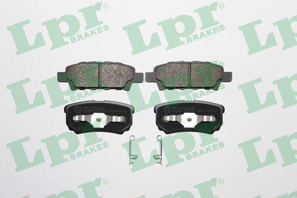 LPR 05P1373 | Колодки тормозные дисковые LPR | Купить в интернет-магазине Макс-Плюс: Автозапчасти в наличии и под заказ