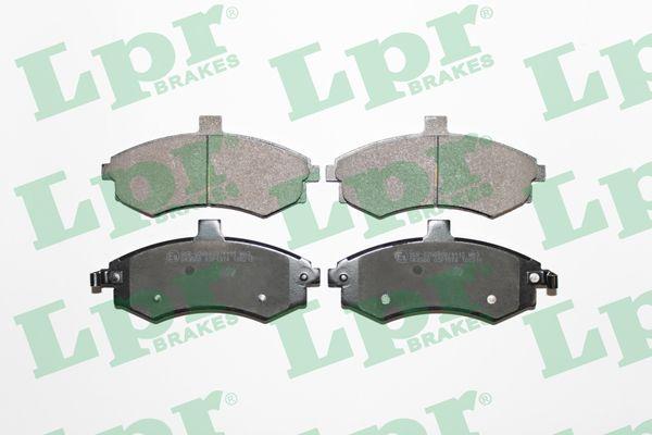 LPR 05P1374 | Комплект тормозных к | Купить в интернет-магазине Макс-Плюс: Автозапчасти в наличии и под заказ