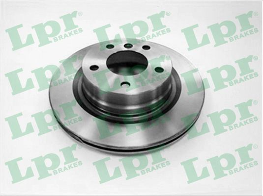 LPR B2018V | Диск тормозной BMW 1 E81/E87/3 E90/91 1.6-3.0 05- задний вент. D=300мм. | Купить в интернет-магазине Макс-Плюс: Автозапчасти в наличии и под заказ