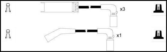 LUCAS LUC4021 | Провода зажигания (к-т) | Купить в интернет-магазине Макс-Плюс: Автозапчасти в наличии и под заказ