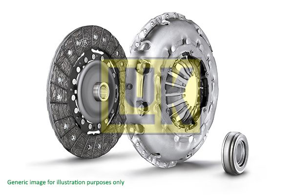 LUK 620033400 | к-кт сцепления!\ Opel Astra/Vectra 1.6/D/1.7D <96 | Купить в интернет-магазине Макс-Плюс: Автозапчасти в наличии и под заказ