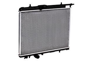 LUZAR LRc20G1 | Радиатор охл. для а/м Peugeot 206 (98-) M/A | Купить в интернет-магазине Макс-Плюс: Автозапчасти в наличии и под заказ