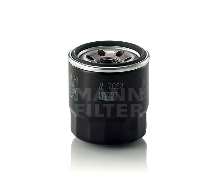 MANN FILTER W7023 | Фильтр масляный | Купить в интернет-магазине Макс-Плюс: Автозапчасти в наличии и под заказ