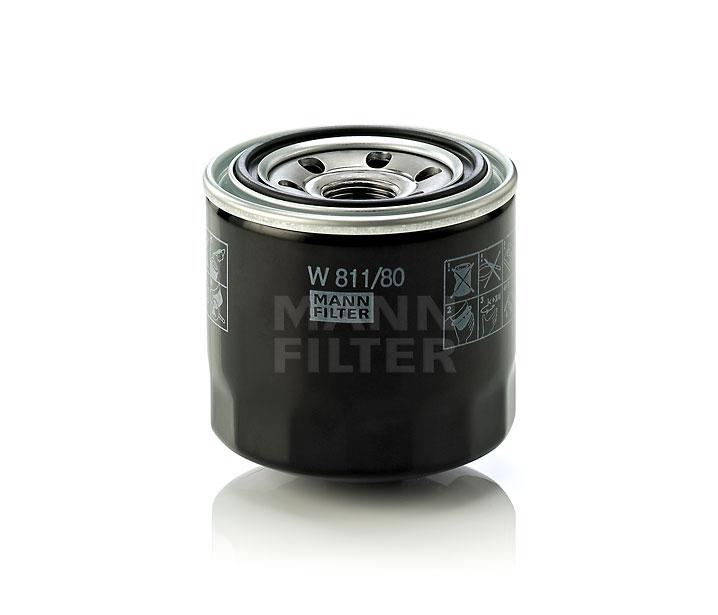 MANN FILTER W81180 | Фильтр масляный | Купить в интернет-магазине Макс-Плюс: Автозапчасти в наличии и под заказ