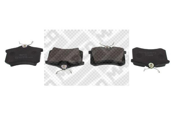 MAPCO 6302 | Колодки тормозные дисковые | Купить в интернет-магазине Макс-Плюс: Автозапчасти в наличии и под заказ