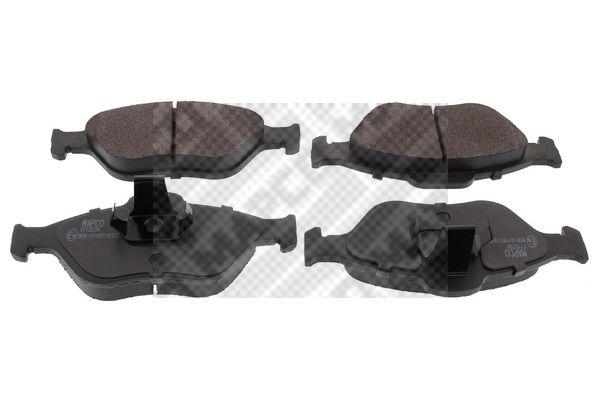 MAPCO 6672 | Колодки тормозные дисковые | Купить в интернет-магазине Макс-Плюс: Автозапчасти в наличии и под заказ