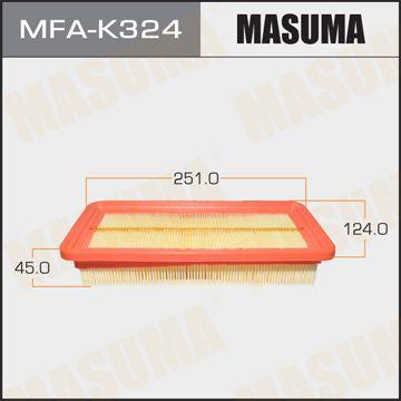 MASUMA MFAK324 | Воздушный фильтр MASUMA LHD HYUNDAI/ GETZ/ V1100, V1300, V1400, V1600 02- (1/40) | Купить в интернет-магазине Макс-Плюс: Автозапчасти в наличии и под заказ