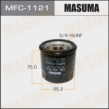 MASUMA MFC1121 | Масляный фильтр C-110 MASUMA | Купить в интернет-магазине Макс-Плюс: Автозапчасти в наличии и под заказ