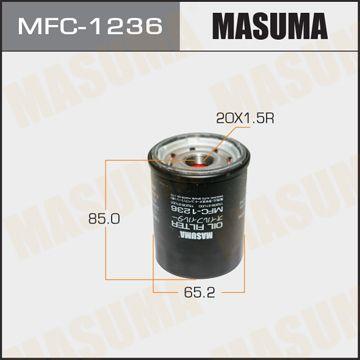 MASUMA MFC1236 | Масляный фильтр C-225 MASUMA | Купить в интернет-магазине Макс-Плюс: Автозапчасти в наличии и под заказ
