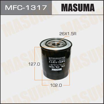 MASUMA MFC1317 | Масляный фильтр C-306 MASUMA | Купить в интернет-магазине Макс-Плюс: Автозапчасти в наличии и под заказ